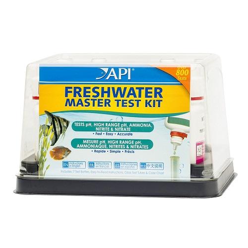 API AQUARIUM FRESH WATER FISH KEEPING MASTER TEST KIT